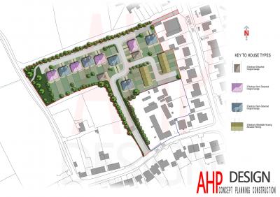 Proposed Site Plan Fylde