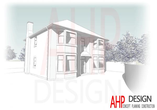 Sketch Render New Build Preston