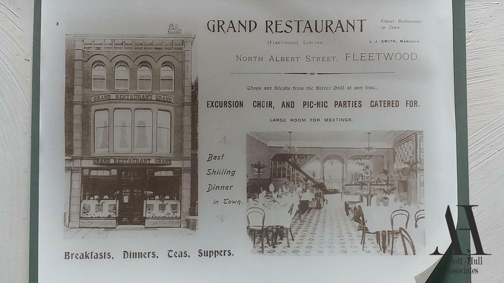 25 North Albert Street, Fleetwood - original photograph
