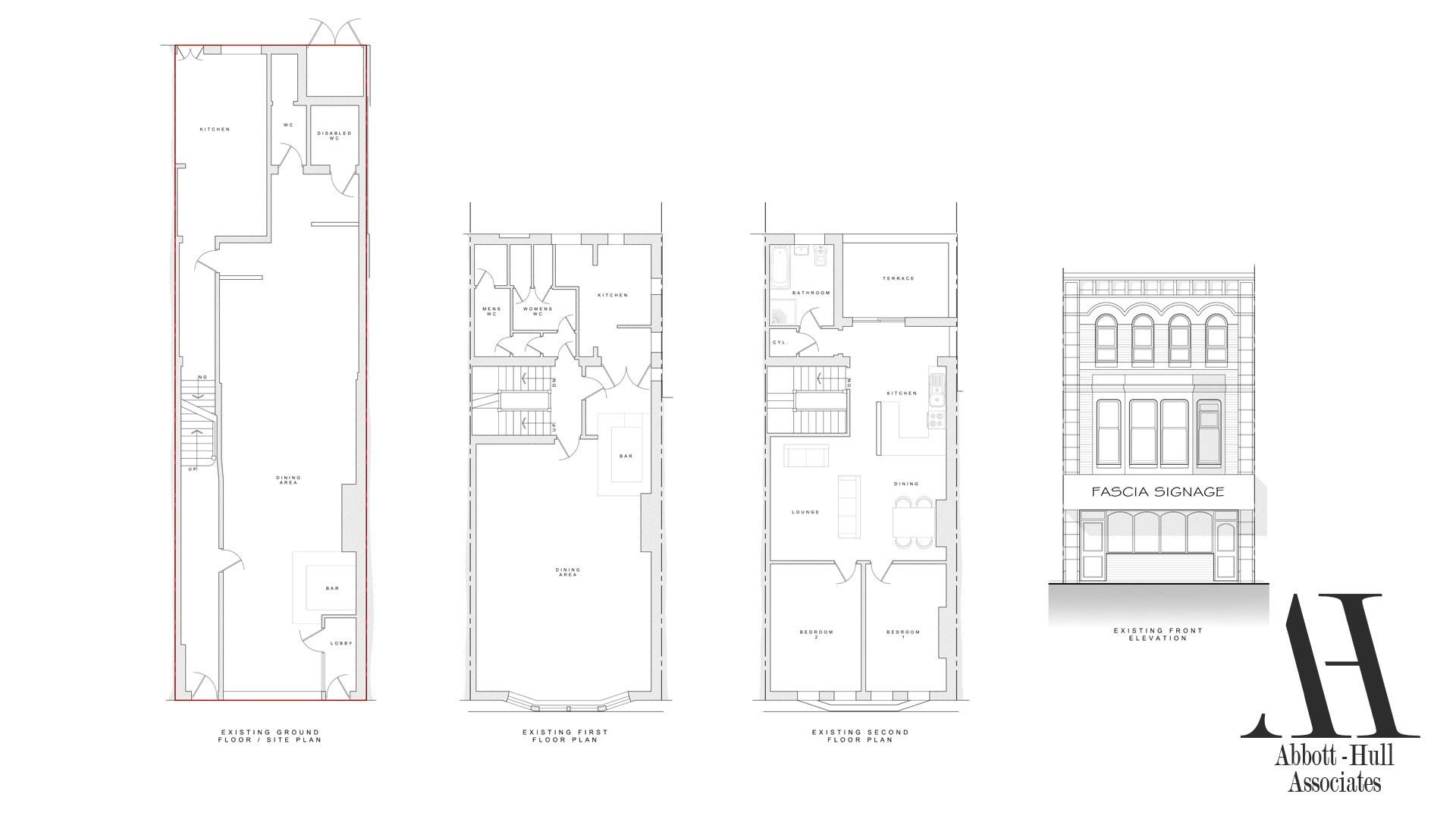 25 North Albert Street, Fleetwood - Existing Plans