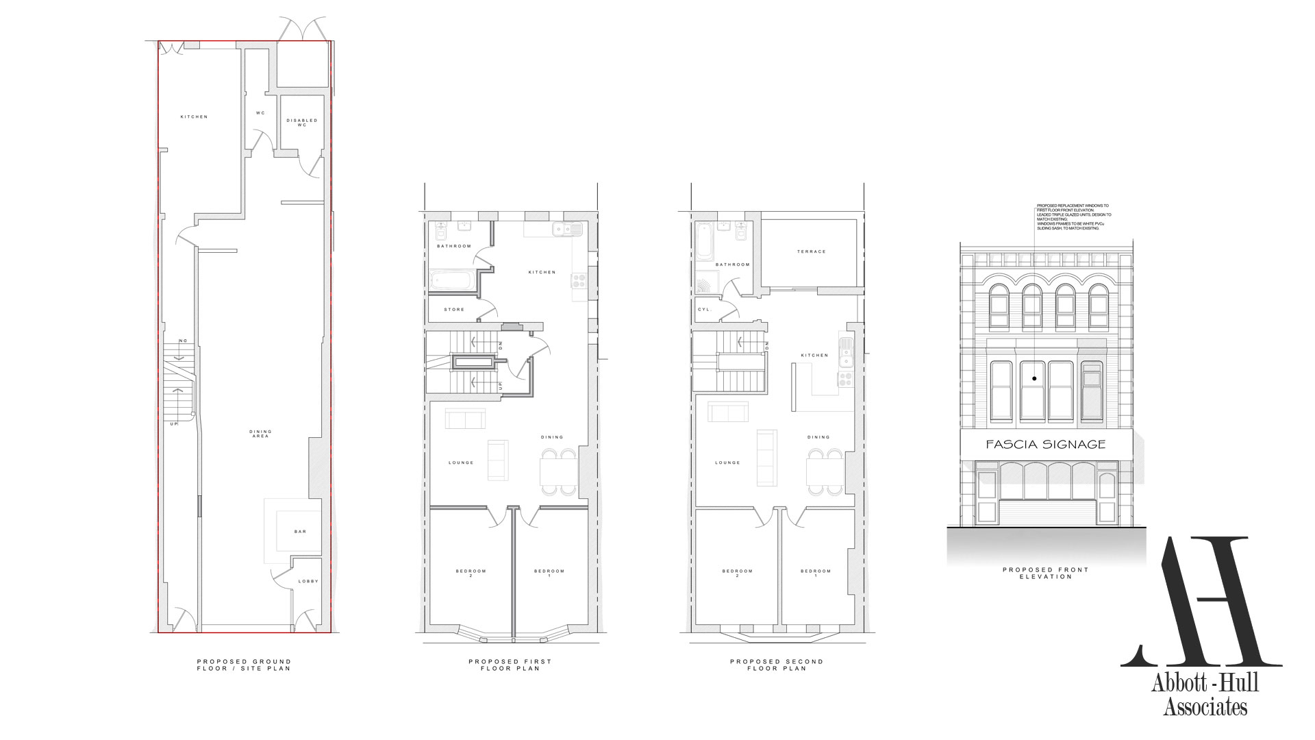 25 North Albert Street, Fleetwood - Proposed Plans