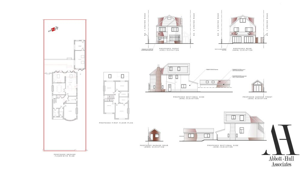 Croyde Road, Lytham St. Annes - Proposed Plans and Elevations