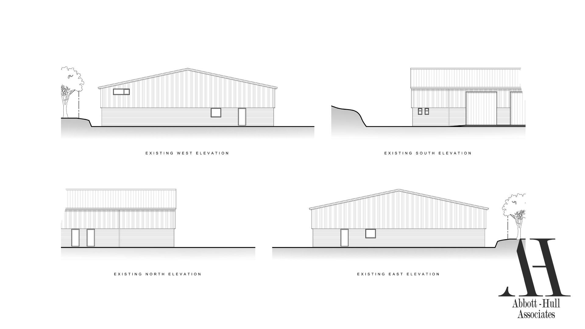 Unit 9 Wyrefields, Poulton Industrial Estate - Existing Elevations