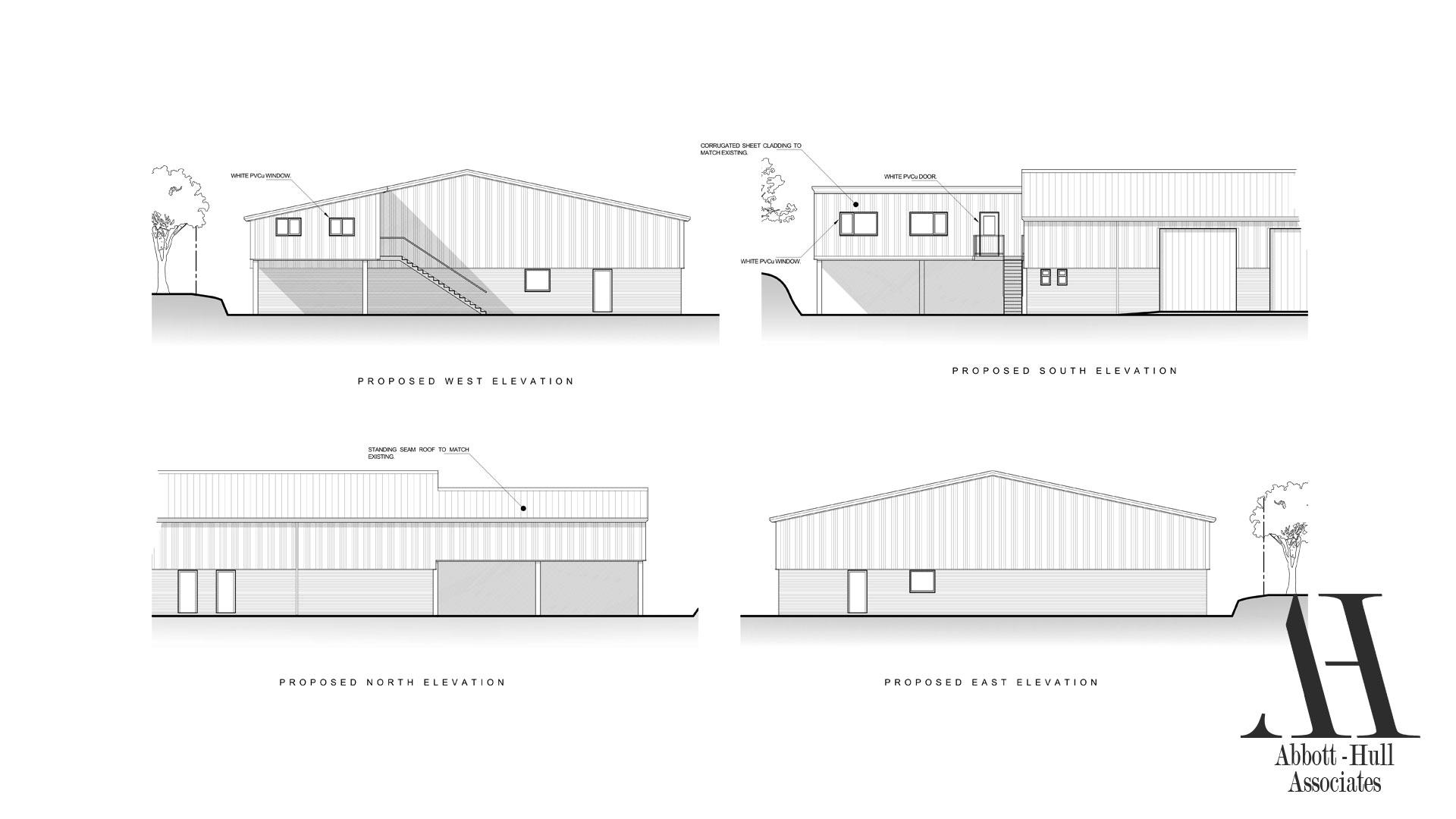 Unit 9 Wyrefields, Poulton Industrial Estate - Proposed Elevations