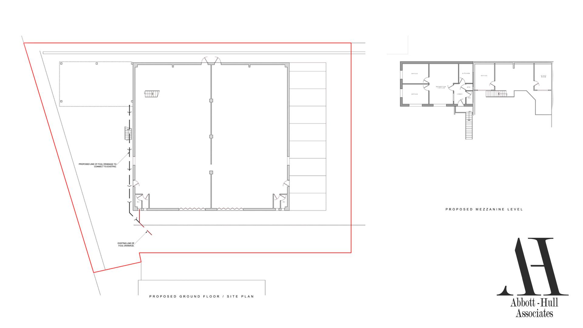 Unit 9 Wyrefields, Poulton Industrial Estate - Proposed Plans