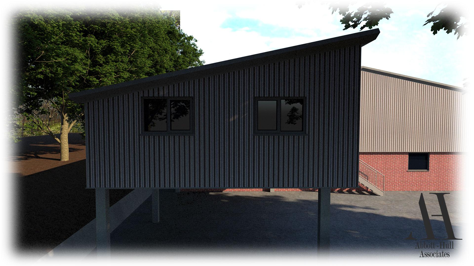 Unit 9 Wyrefields, Poulton Industrial Estate - Side Visual