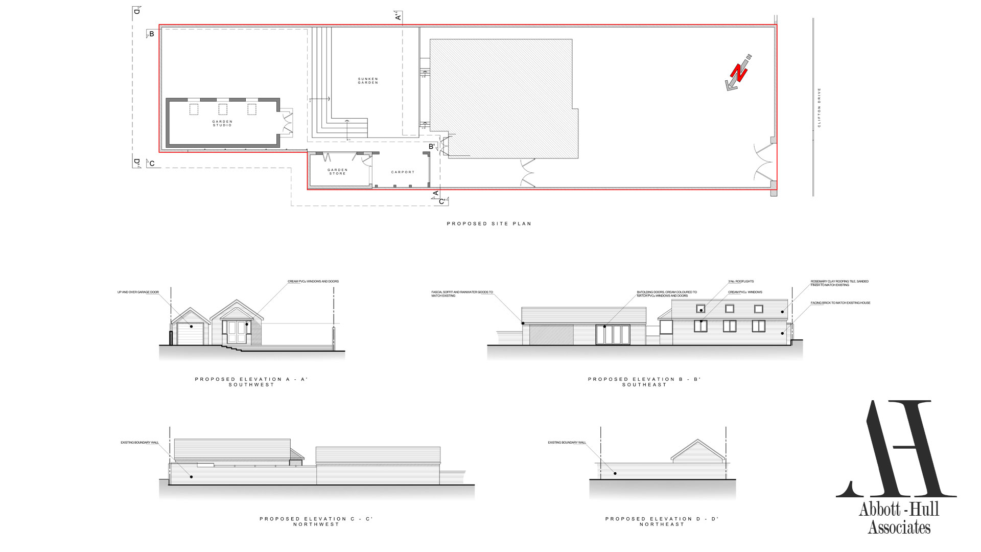 Clifton Drive, Lytham St. Annes - Proposed Plans and Elevations