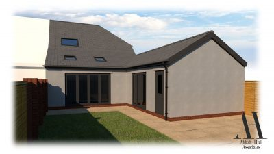 Visual of Rear Extension