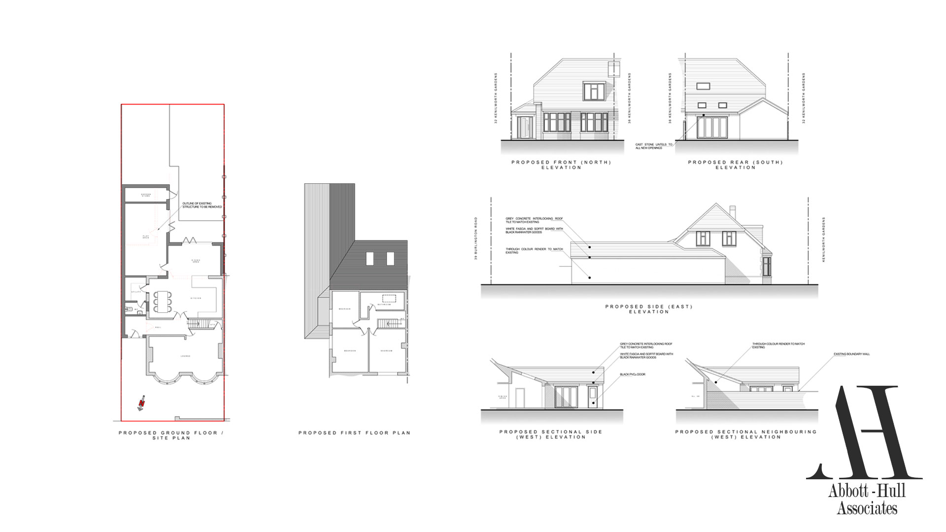 Open Floor Plan Remodel Planning Application Submitted Extension To Semi
