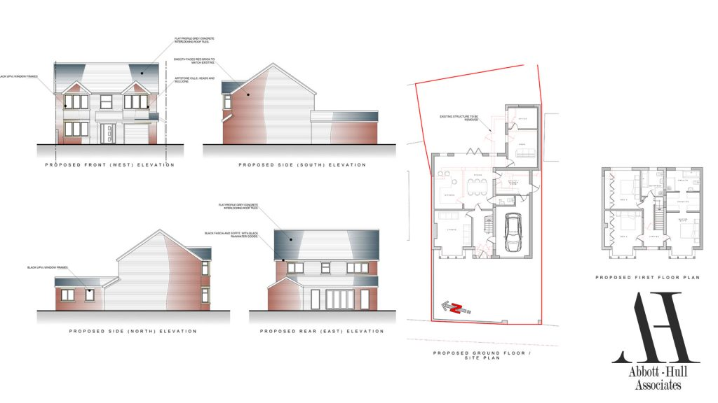Marsh Road, Thornton-Cleveleys, House Extension - Proposed Plans