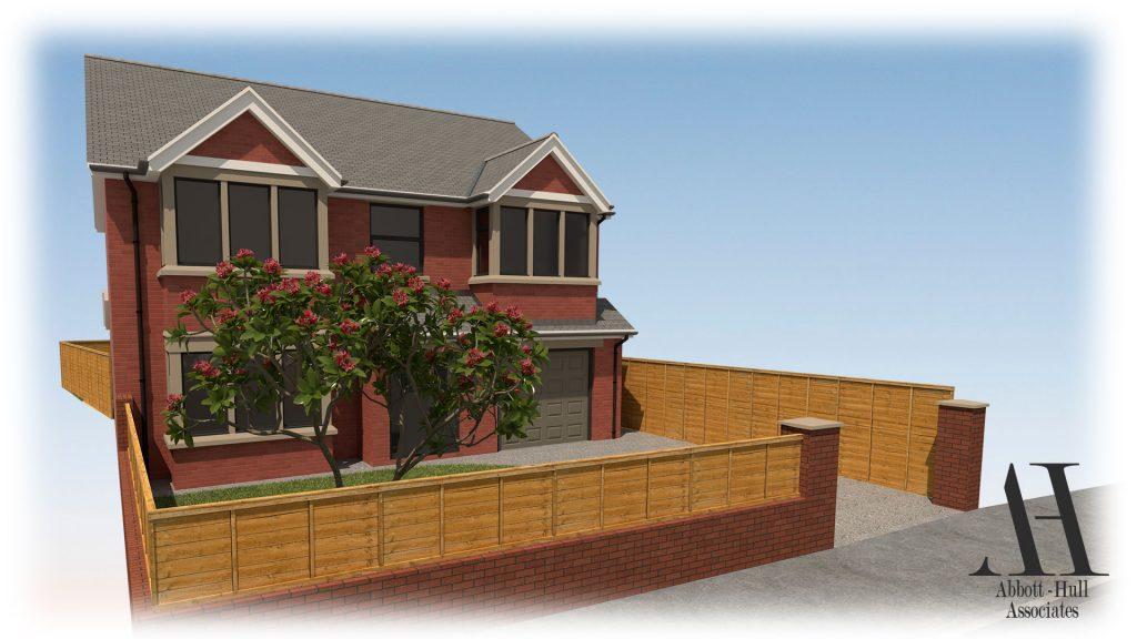 Marsh Road, Thornton-Cleveleys, House Extension - Visual B