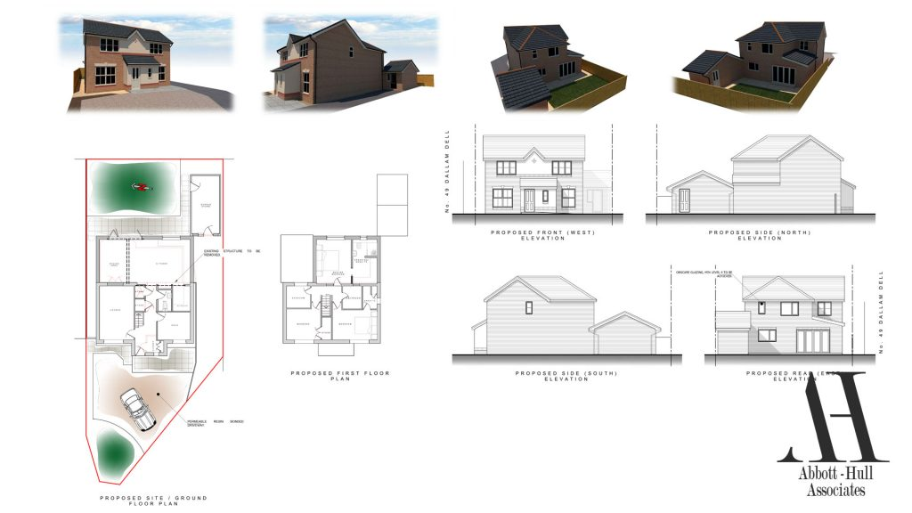 Dallem Dell, Thornton-Cleveleys, House Extension - Proposed Plans