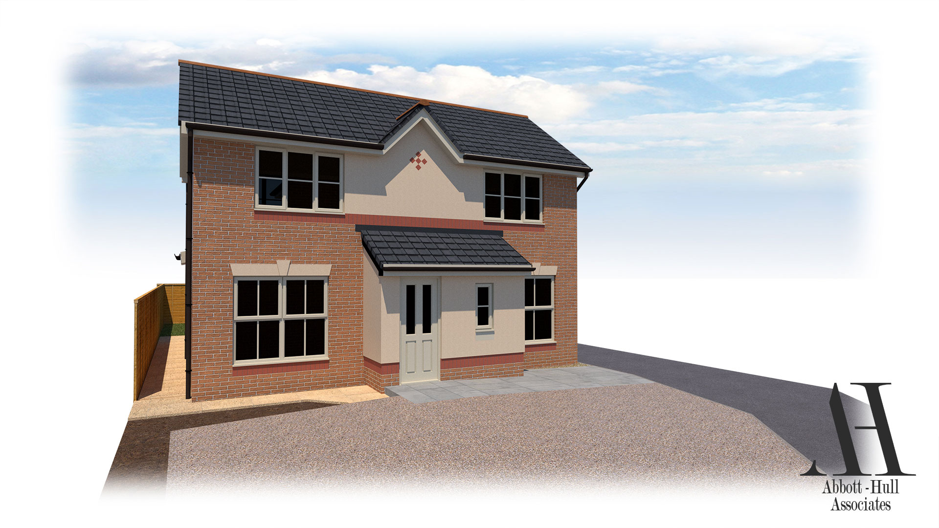 Dallem Dell, Thornton-Cleveleys, House Extension - Proposed Visual A
