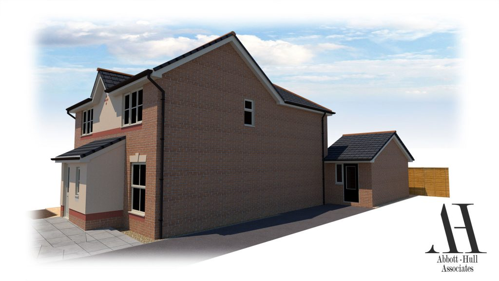 Dallem Dell, Thornton-Cleveleys, House Extension - Proposed Visual B