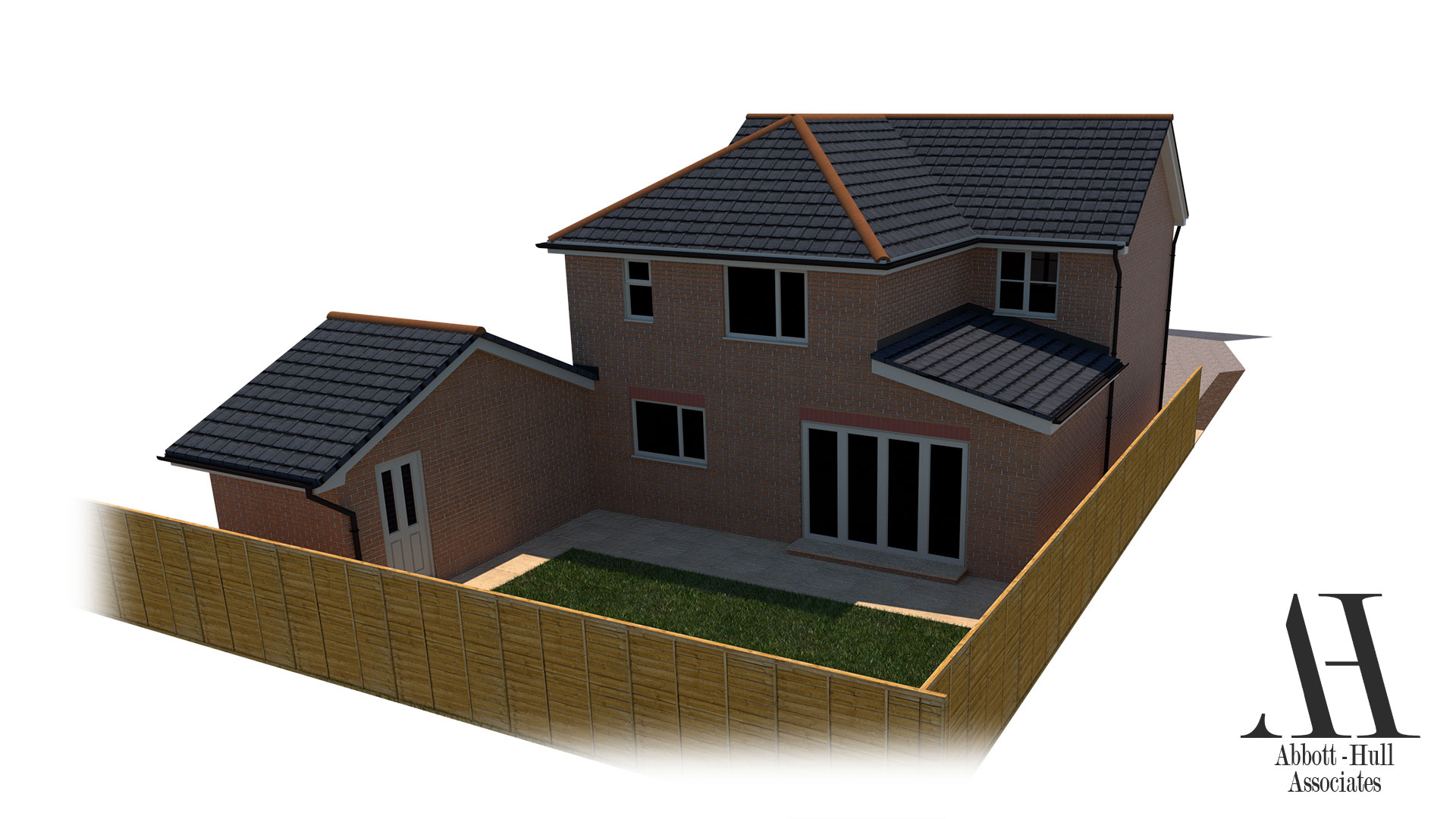 Dallem Dell, Thornton-Cleveleys, House Extension - Proposed Visual D