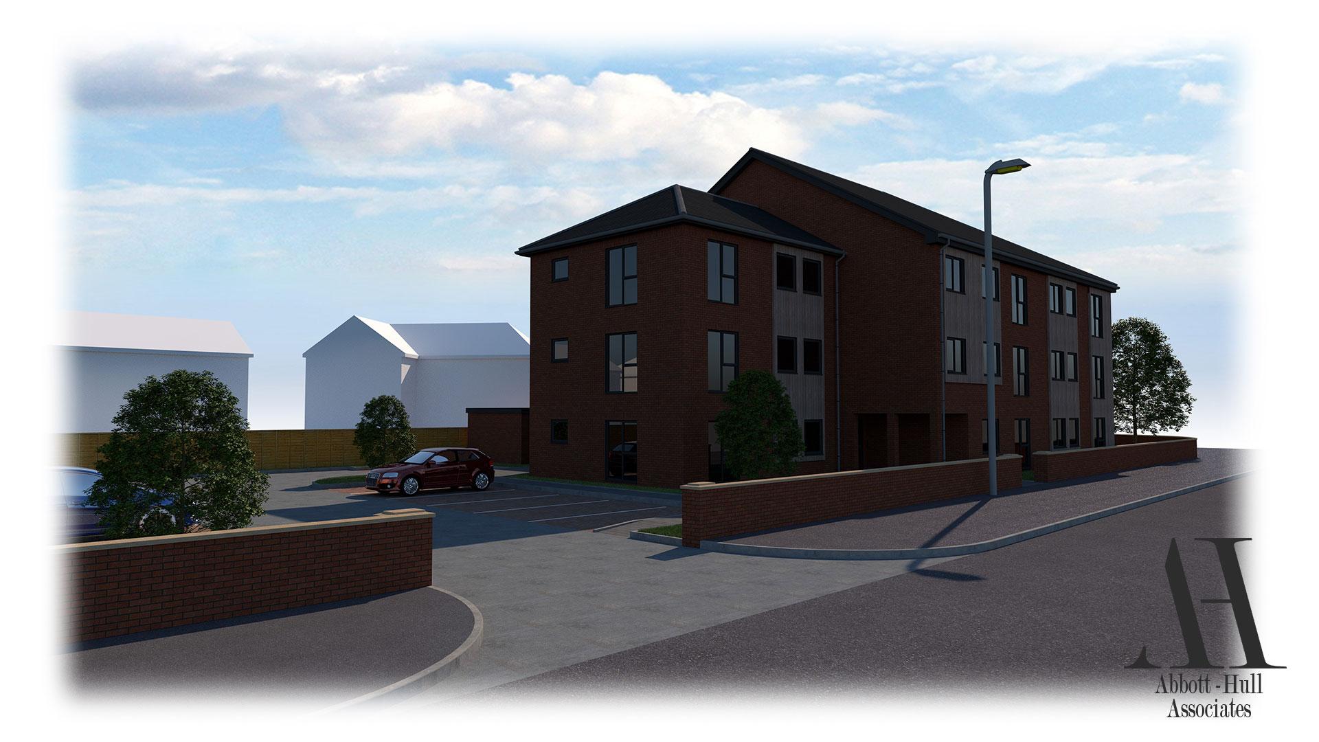 Waterloo Road, Blackpool, New Apartment Block - Proposed Visual B