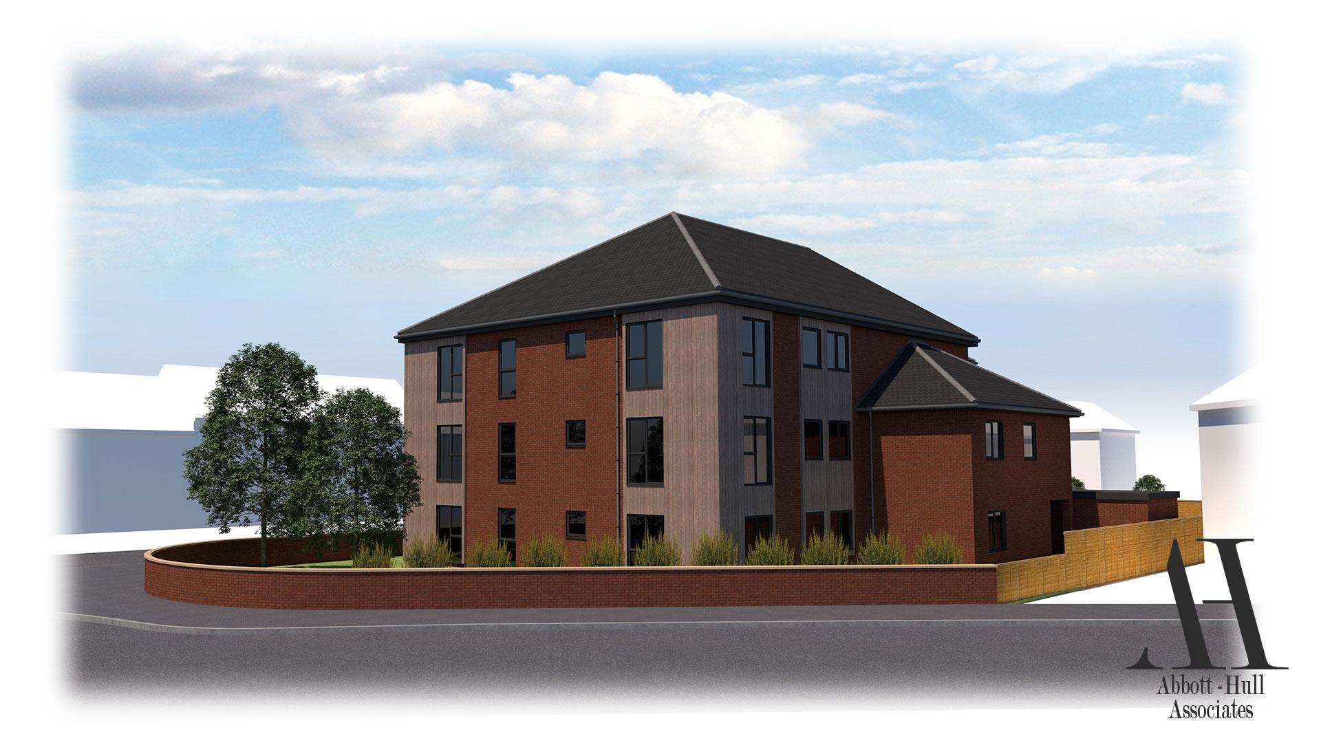Waterloo Road, Blackpool, New Apartment Block - Proposed Visual D