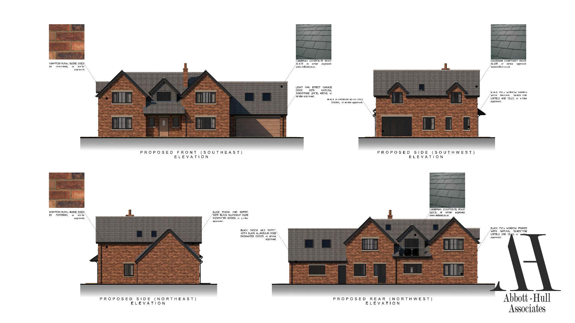 New Dwelling, Applegarth, Singleton - Proposed Elevations