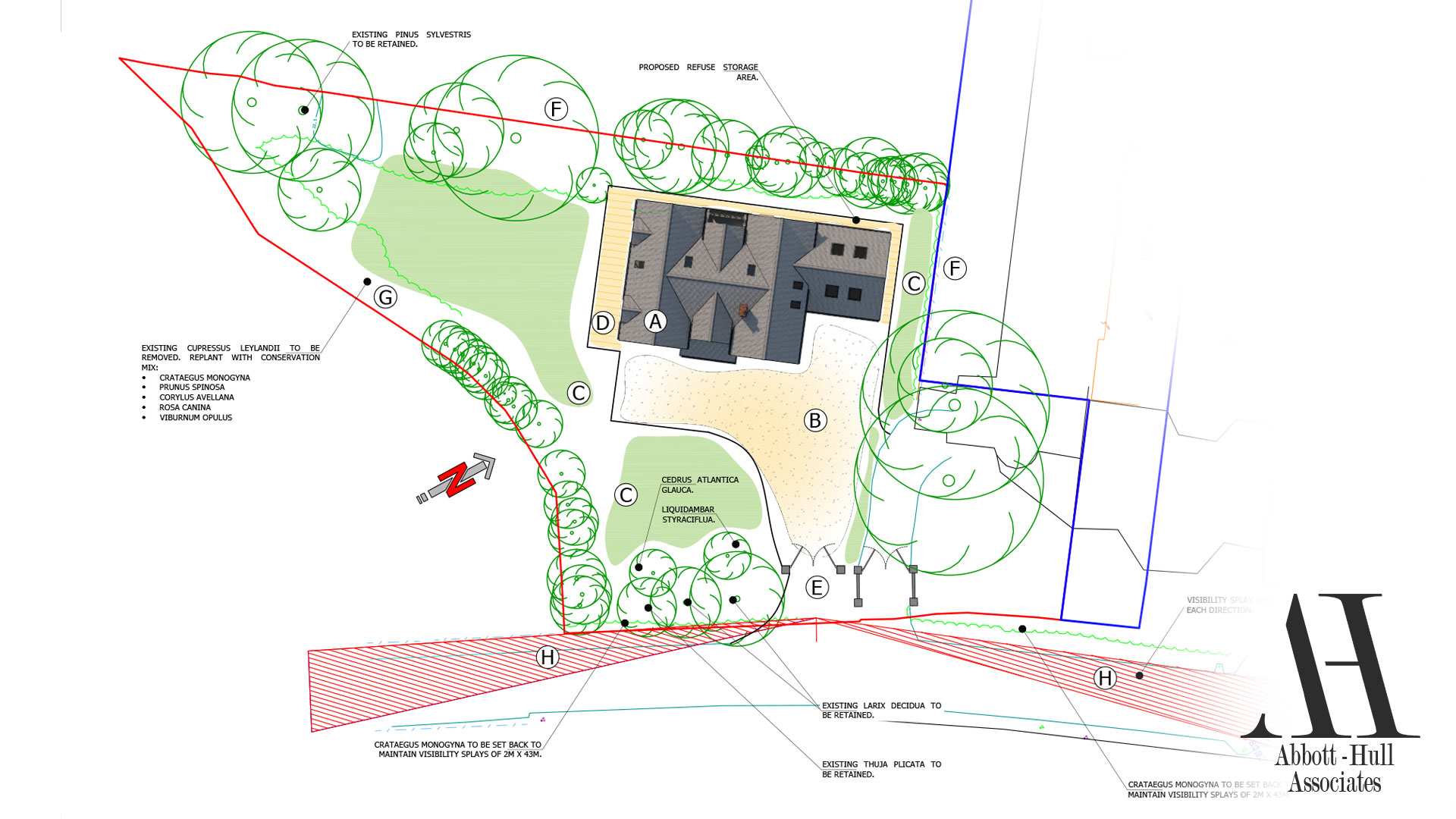 New Dwelling, Applegarth, Singleton - Proposed Site Plans