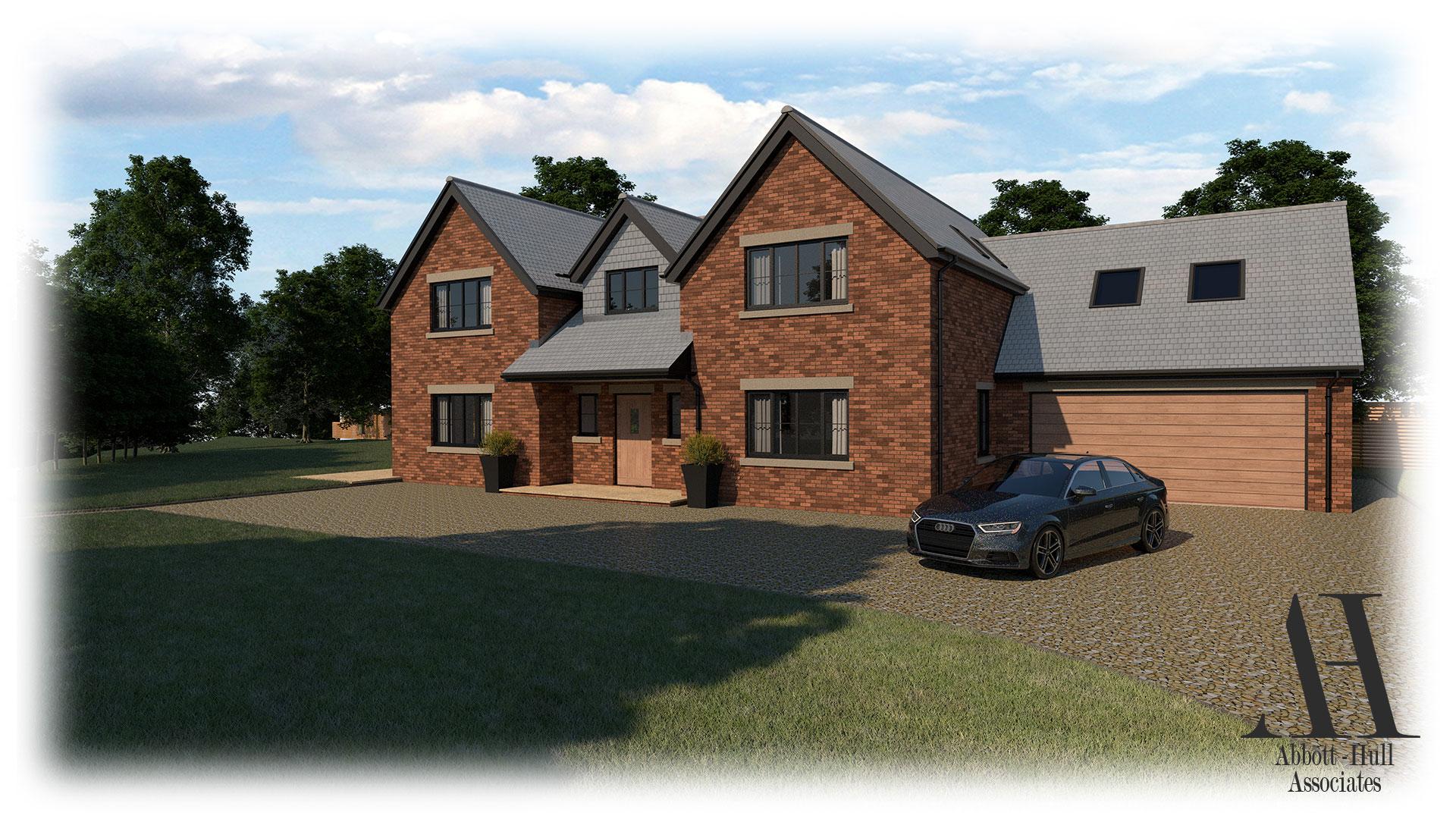 New Dwelling, Applegarth, Singleton - Visual A