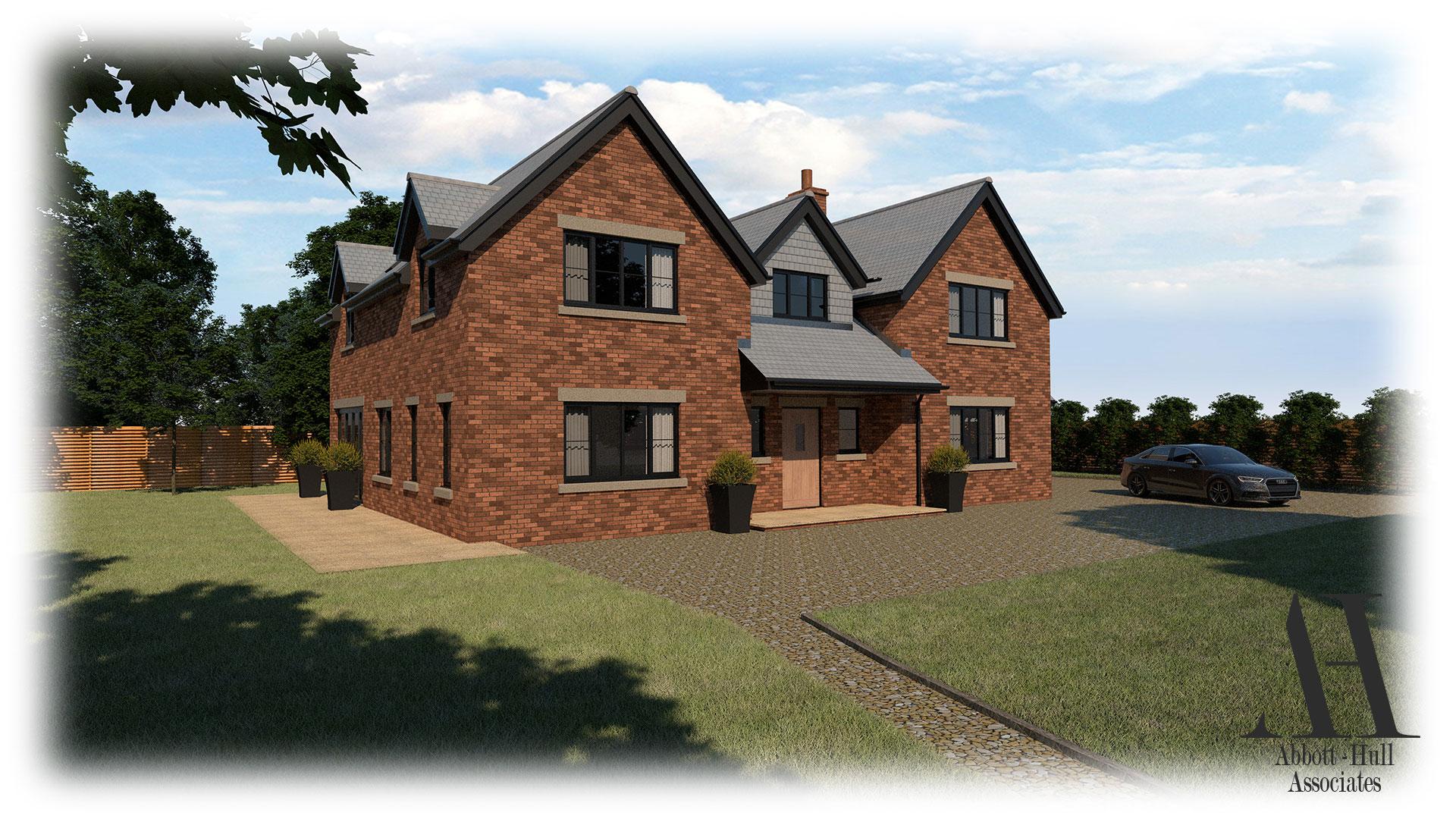 New Dwelling, Applegarth, Singleton - Visual B