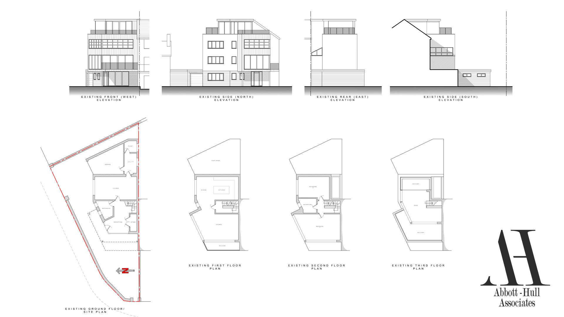 The Pod, North Promenade, Thornton-Cleveleys - Existing Plans