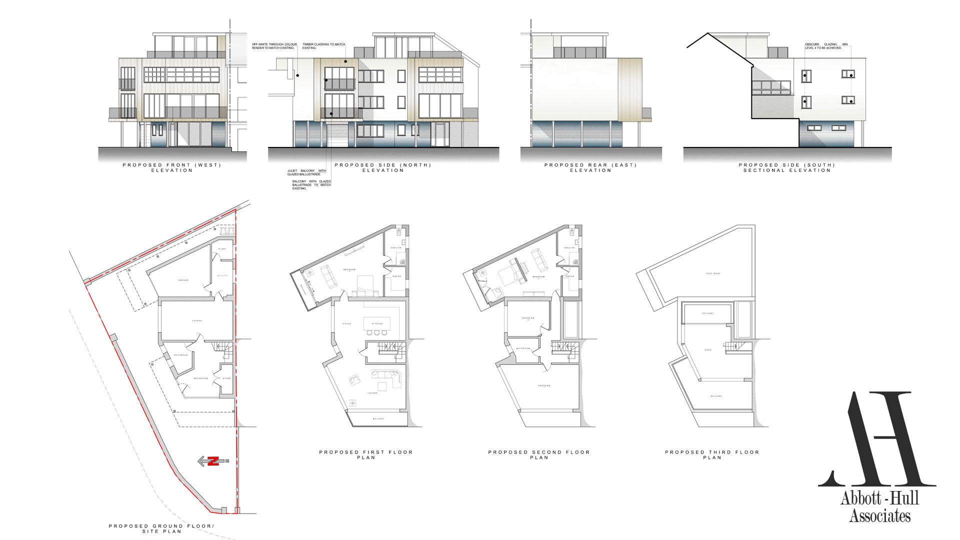 The Pod, North Promenade, Thornton-Cleveleys - Proposed Plans