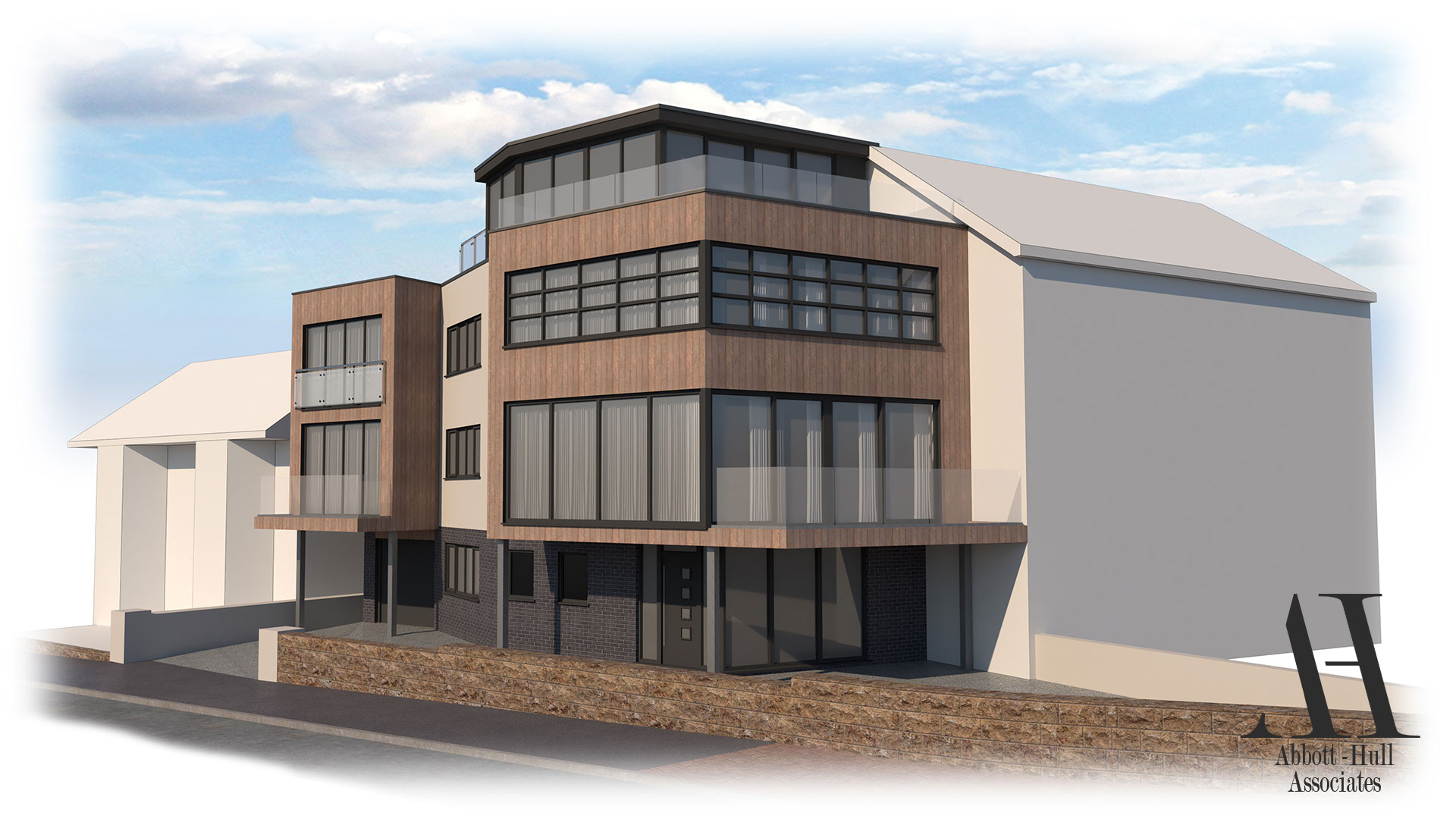 The Pod, North Promenade, Thornton-Cleveleys - Proposed Visual A