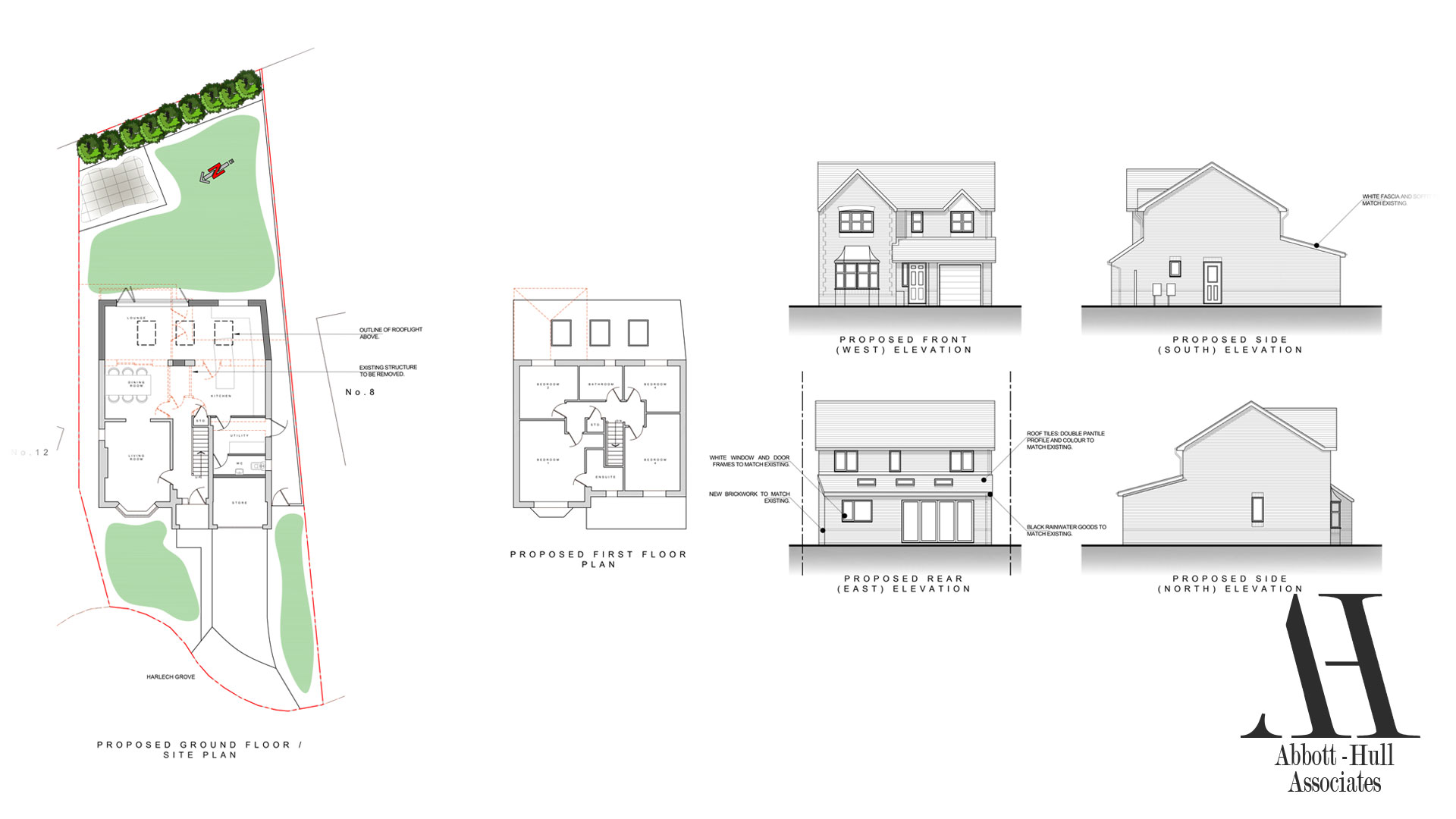 Harlech Grove, Thornton-Cleveleys - Proposed Plans