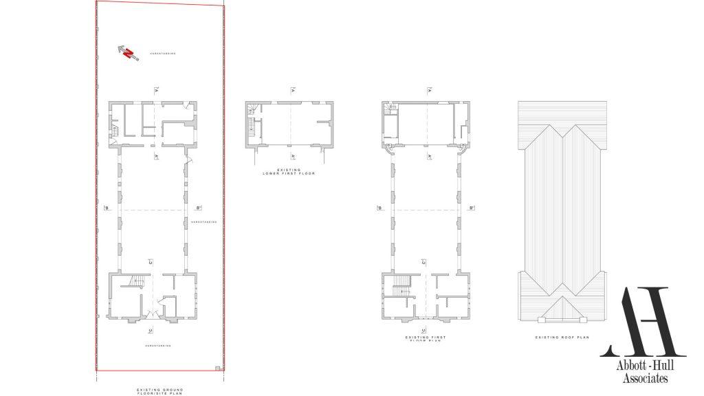 Parochial Hall, Park Road, Blackpool - Existing Plans