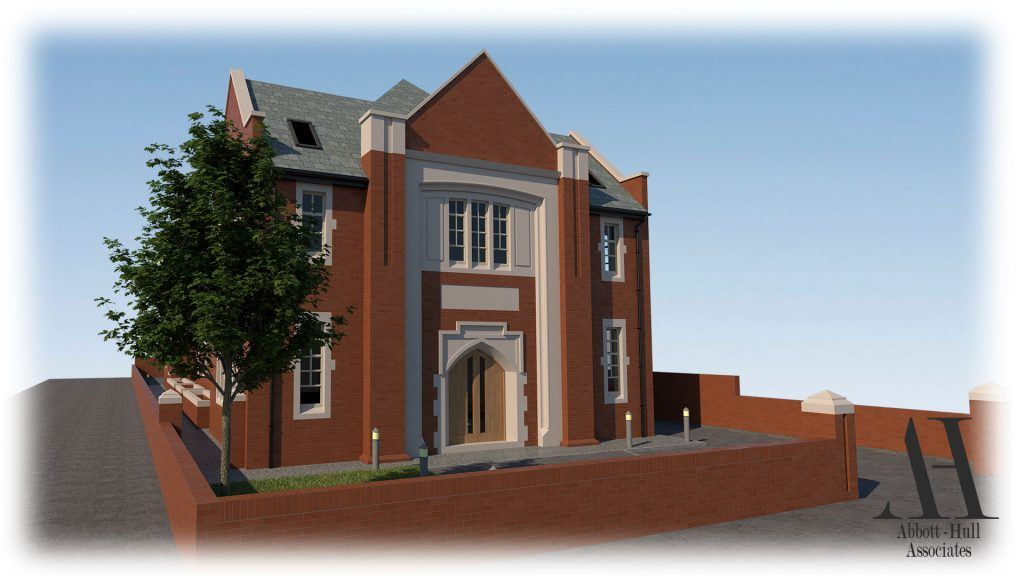 Parochial Hall, Park Road, Blackpool - Proposed Visual 2