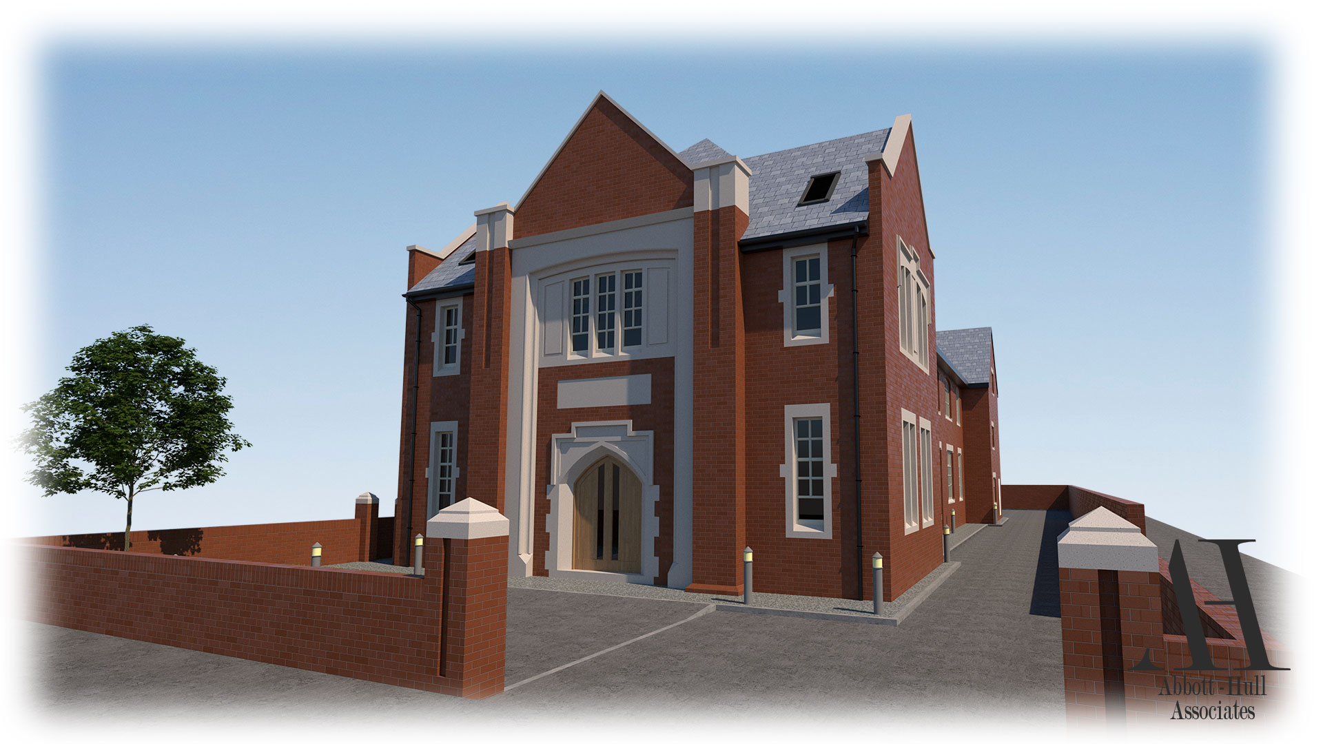 Parochial Hall, Park Road, Blackpool - Proposed Visual 1