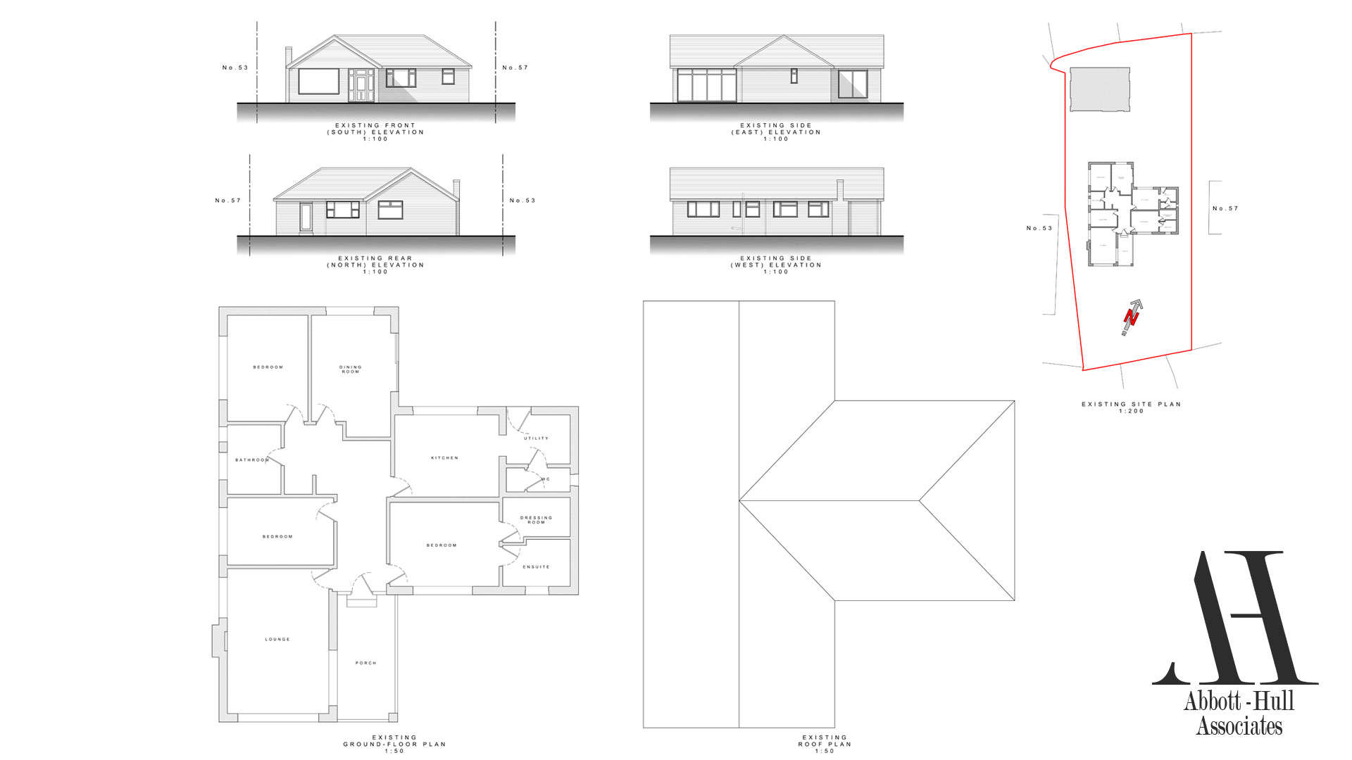Chain Lane, Staining - Existing Plans