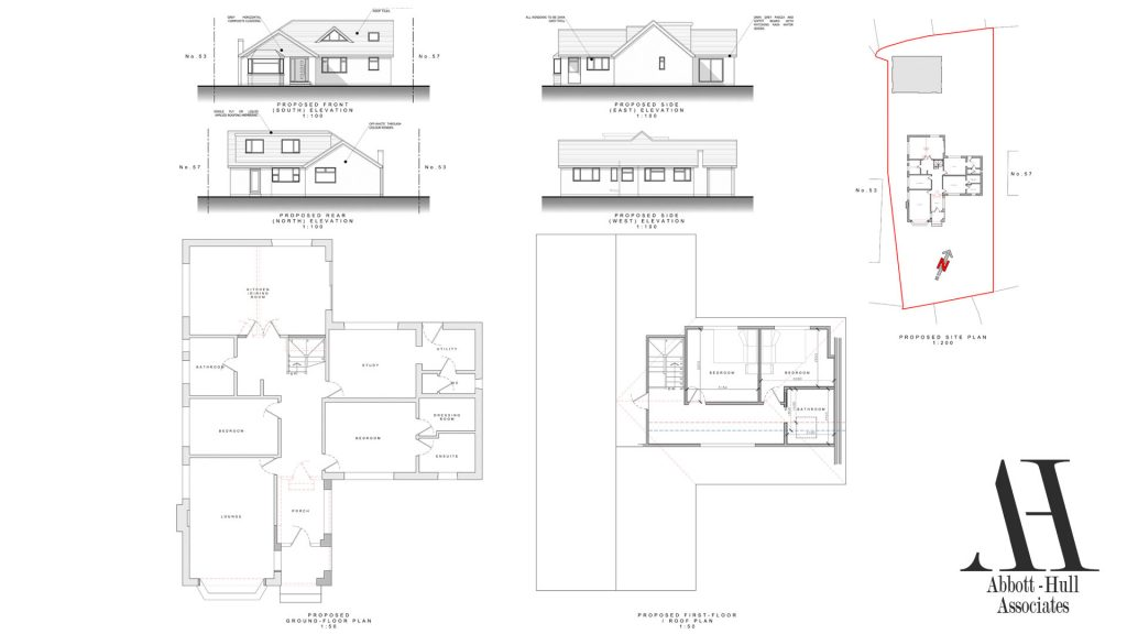 Chain Lane, Staining - Proposed Plans