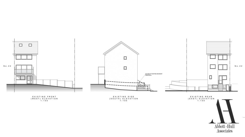North Promenade, Thornton-Cleveleys - Existing Elevations