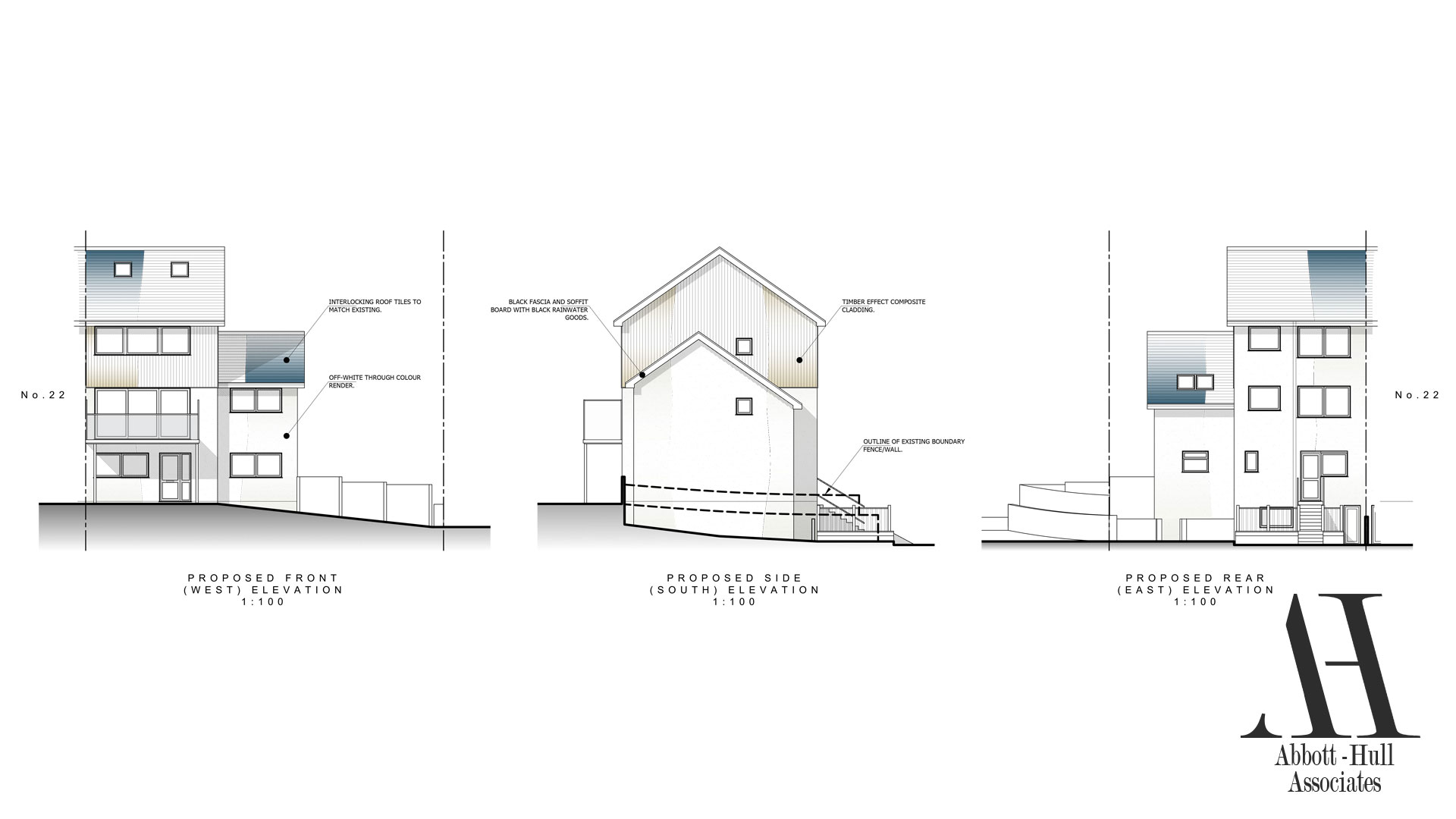 North Promenade, Thornton-Cleveleys - Proposed Elevations