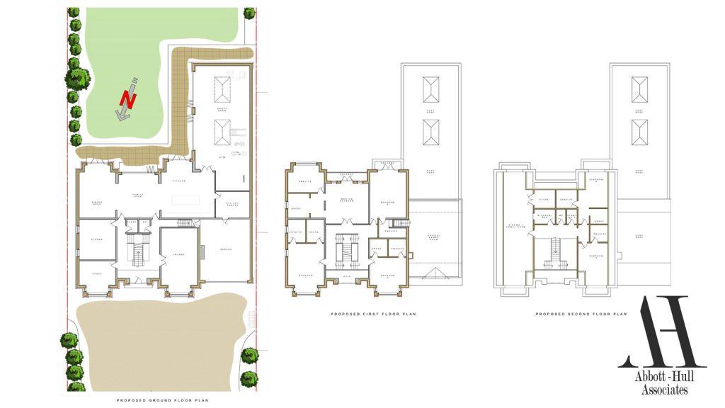 Oldfield Carr Lane, Poulton-le-Fylde, New Dwelling - Proposed Plans