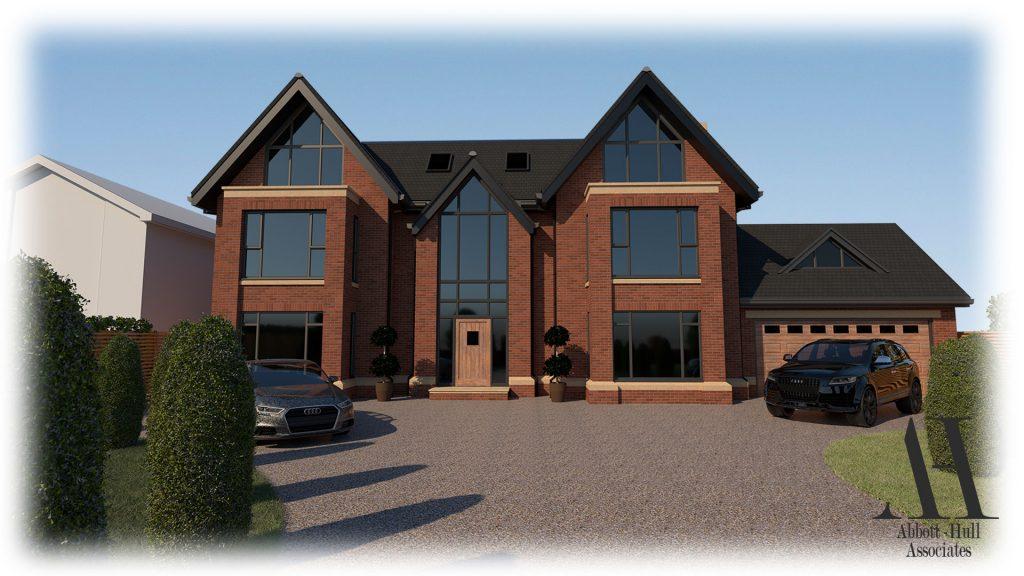 Oldfield Carr Lane, Poulton-le-Fylde, New Dwelling - Visual A
