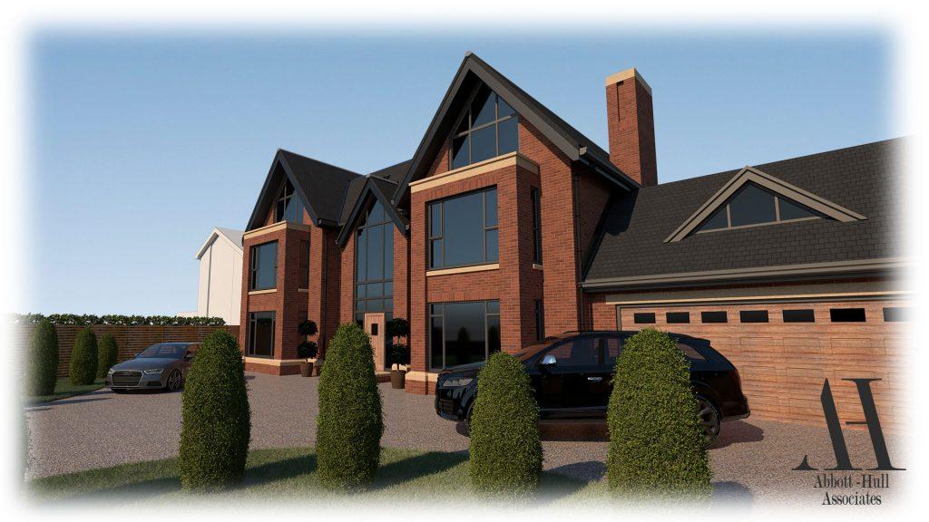 Oldfield Carr Lane, Poulton-le-Fylde, New Dwelling - Visual B