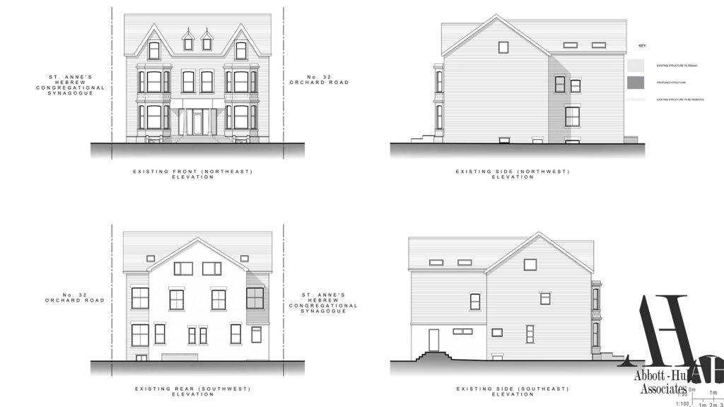 Orchard Road, Lytham St. Annes Existing Elevations