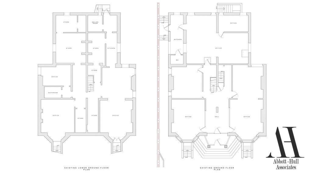 Orchard Road, Lytham St. Annes Existing Plans 1