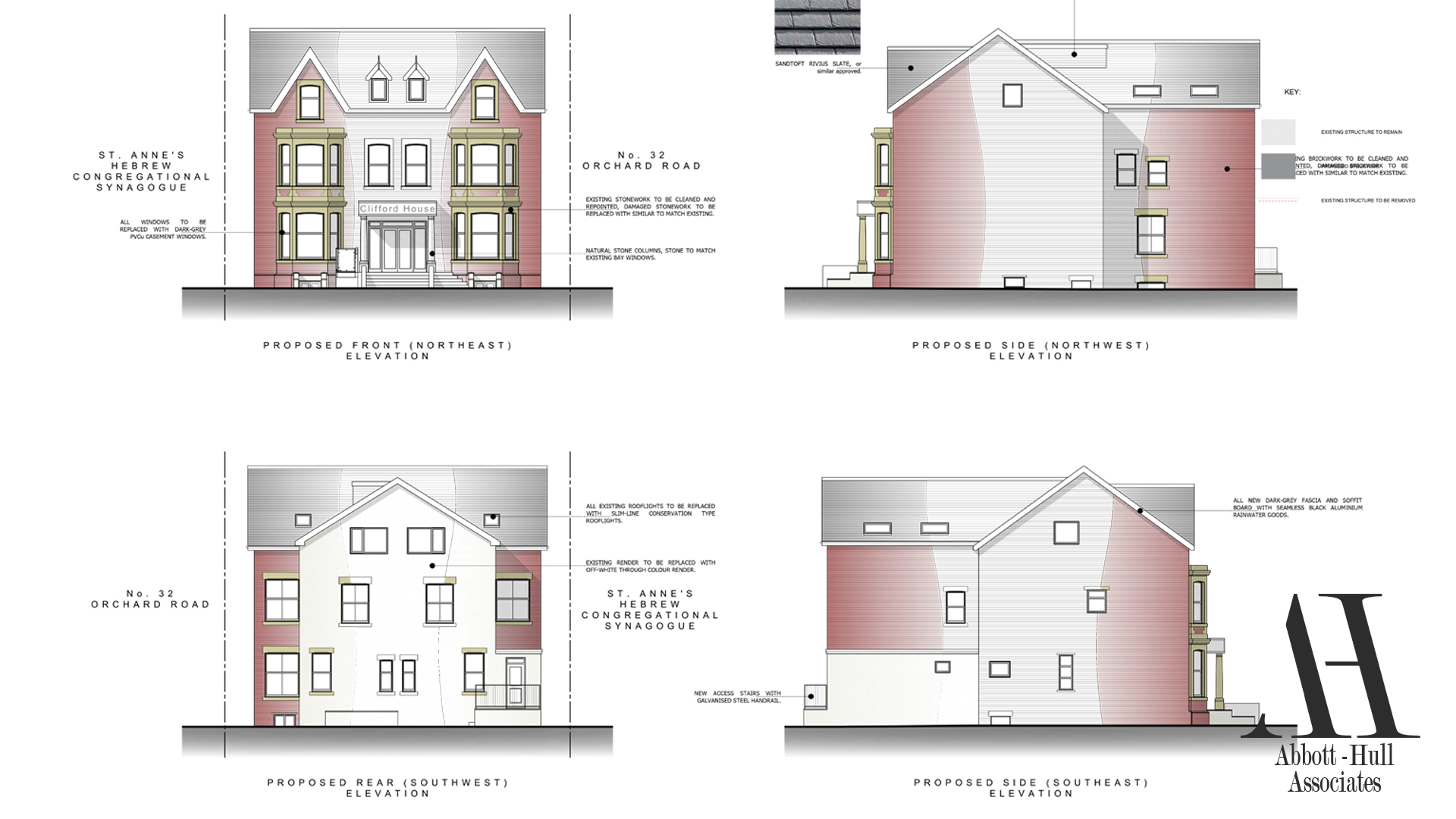 Orchard Road, Lytham St. Annes Proposed Elevations