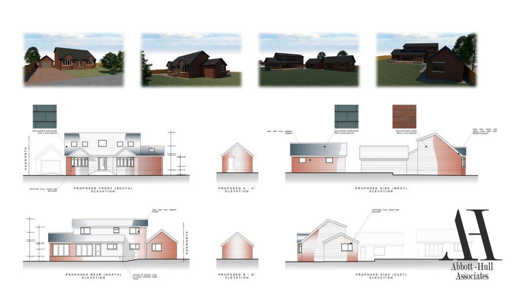Wayside, New Lane, Thornton-Cleveleys - Proposed Elevations