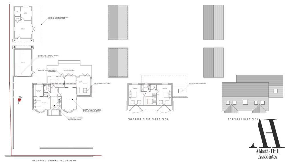 Wayside, New Lane, Thornton-Cleveleys - Proposed Plans