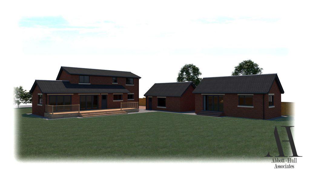 Wayside, New Lane, Thornton-Cleveleys - Proposed Visual C