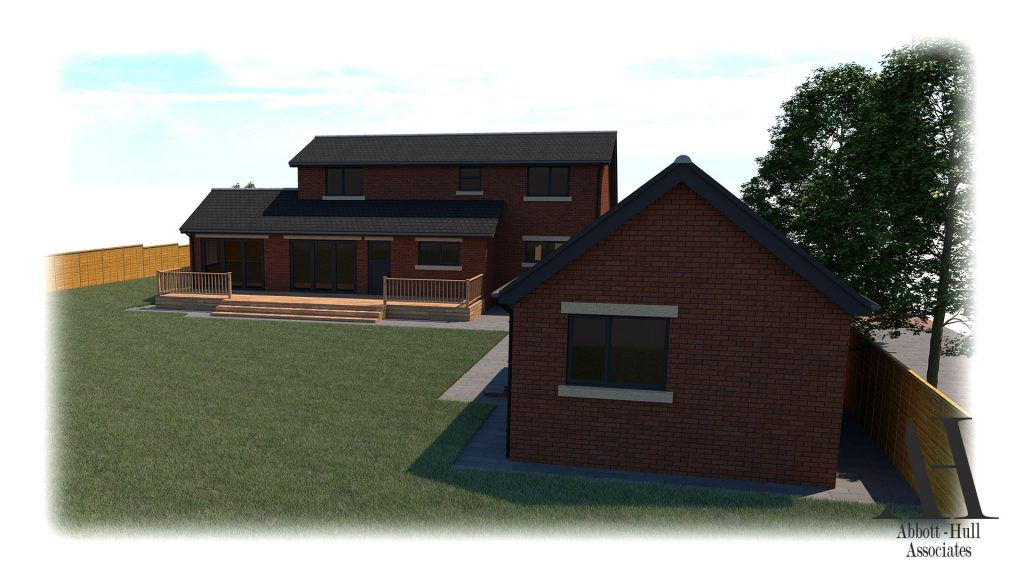 Wayside, New Lane, Thornton-Cleveleys - Proposed Visual D
