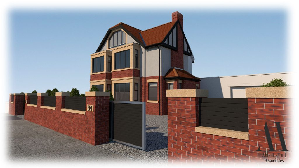 Princes Way, Fleetwood - Proposed Visual A