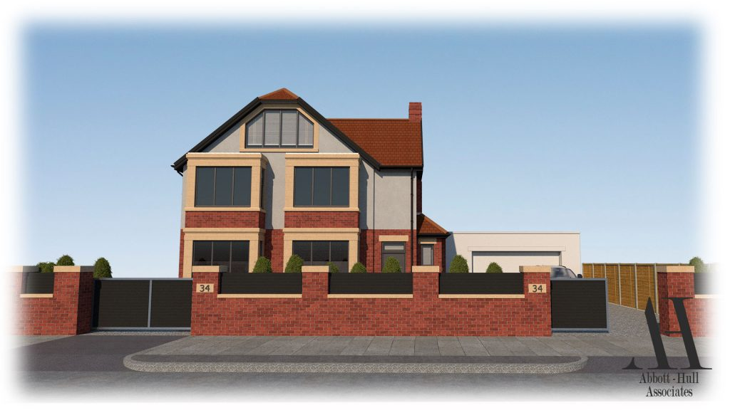 Princes Way, Fleetwood - Proposed Visual D